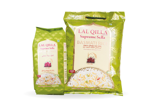 seMart Lal Qilla 1121 Sella Basmati Rice